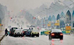 اسلام آباد : موسم سرما کی پہلی بارش ، موسم خوشگوار