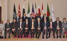 اسلام آباد : ڈی ایٹ کانفرنس شروع، صدر کا شرکاء کے اعزاز میں ظہرانہ