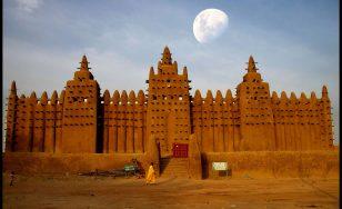 کچی اینٹوں سے تعمیر کردہ دنیا کی سب سے بڑی عمارت(مسجد جینے)