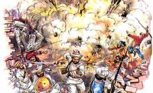 جنگ آزادی:دہلی کا محاصرہ- 11مئی 1857