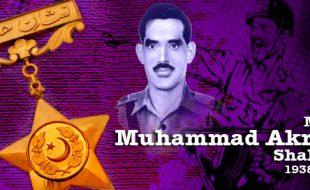 میجر محمد اکرم شہید : جنگ1971