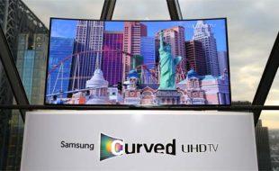 سام سنگ نے دنیا کا پہلا Curved UHDTV پاکستان میں متعارف کرا دیا