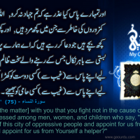 Al-Quran - Surah Nisa - 75