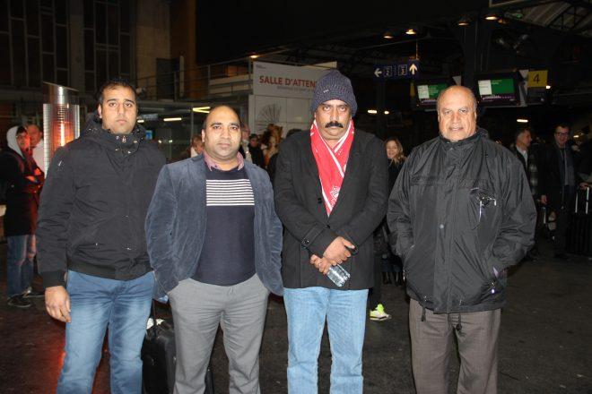 صدر ممنون حسین کے ذاتی دوست سعید ہاشمی کی فرانس آمد