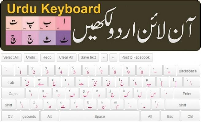 Online Urdu Keyboard
