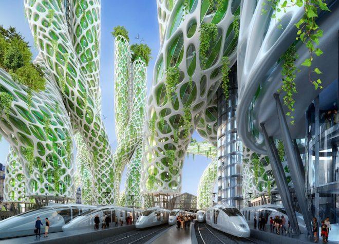 پیرس اسمارٹ سٹی 2050 میں