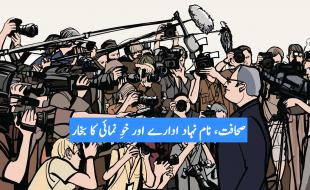 صحافت، نام نہاد ادارے اور خوِ نمائی کا بخار