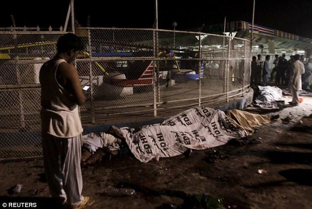 تفریح گاہ میں خودکش بم دھماکا، 64 افراد جاں بحق