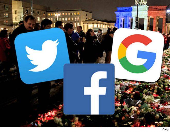 فیس بک، ٹوئٹر، گوگل نے پیرس حملوں میں مدد فراہم کی