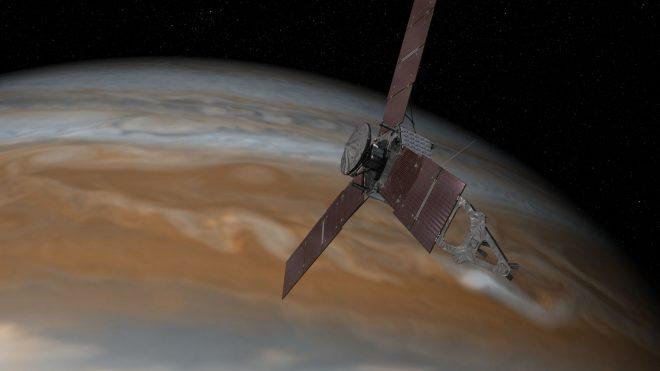 امریکی خلائی جہاز 'جونو' کا مشتری کے مدار میں سفر شروع