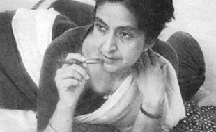 نامور افسانہ نگار، شاعرہ، ناول نگار امرتا پریتم