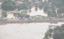 سندھ اور بلوچستان میں بارش، ندی نالوں میں طغیانی، سینکڑوں دیہات زیرآب