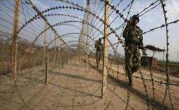 بھارت کی آزاد کشمیر میں شیر کیمپ سیکٹر میں بلا اشتعال گولہ باری