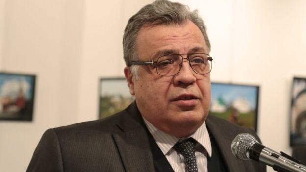 ترکی میں روس کے سفیر حملے میں ہلاک