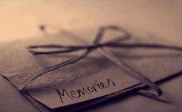 یادیں خوبصورت ہوتی ہیں