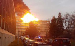 فرانس کے شہر لیون میں یونیورسٹی کی عمارت میں دھماکا، 3 افراد زخمی