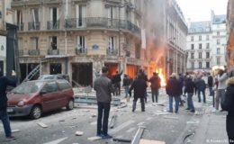 پیرس: گیس کے اخراج کے بعد دھماکا، دو فائر فائٹرز ہلاک
