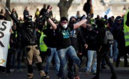 فرانس: ییلو جیکٹ مظاہرے پوری شدت سے جاری