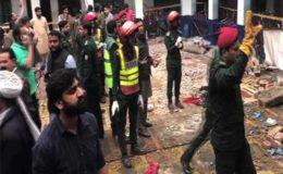 گوجرانوالہ: نجی سکول کی دیوار گر گئی، ٹیچر اور 5 بچے جاں بحق