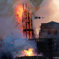 Brand in der Kathedrale Notre Dame