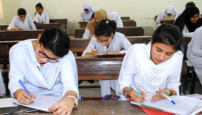 سندھ بھر میں نویں اور دسویں جماعت کے امتحانات کا آج سے آغاز