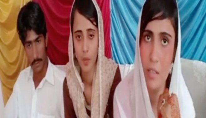 گھوٹکی کی نو مسلم 2 بہنوں کو شوہروں کے ساتھ جانے کی اجازت