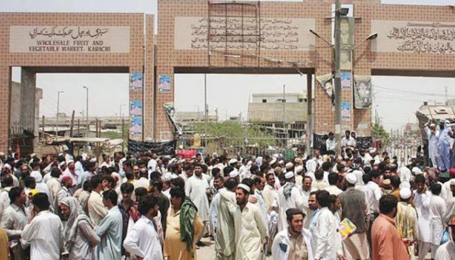 کراچی کی سبزی منڈی میں 2 گروپوں میں فائرنگ سے ایک شخص جاں بحق، 4 زخمی