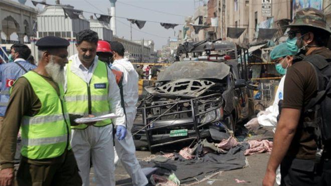 لاہور دہشت گردوں کے نشانہ پر