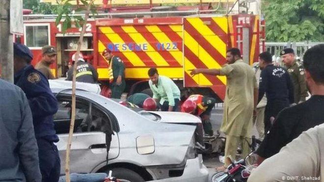 لاہور خودکش حملے میں ہلاکتوں کی تعداد 10 ہو گئی