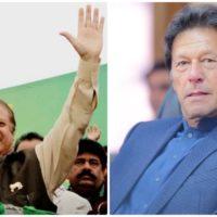 Nawaz Sharif - Imran Khan