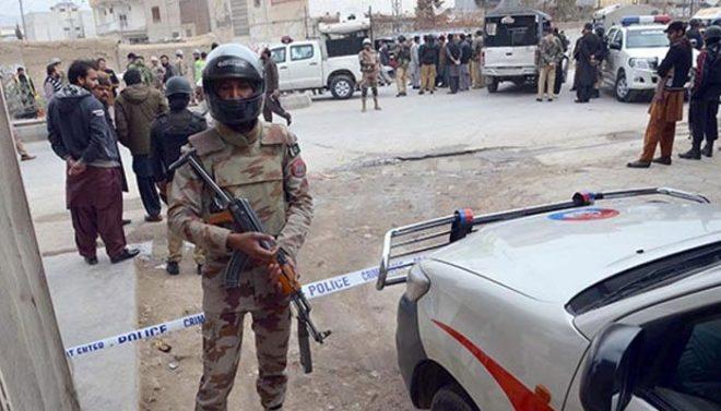 بلوچستان کے ضلع ہرنائی میں دہشتگردوں کی فائرنگ، 2 ایف سی اہلکار شہید