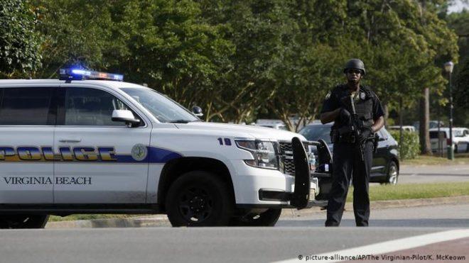 امریکی ریاست ورجینیا میں فائرنگ سے تیرہ افراد ہلاک