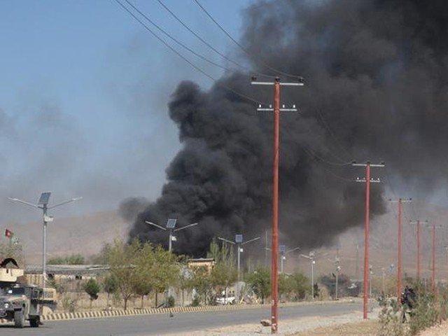 افغان شہر غزنی میں این ڈی ایس دفتر کے قریب دھماکے میں ایک شخص ہلاک، 20 زخمی
