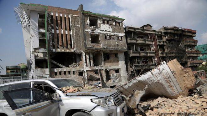 نائب افغان صدارتی امیدوار کے دفتر پر حملہ، 20 افراد ہلاک