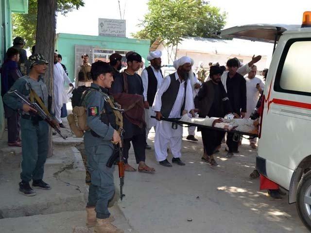 افغانستان میں پولیس چوکی پر خود کش حملے میں 4 افراد جاں بحق