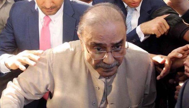 سابق صدر آصف زرداری پارک لین کیس میں بھی گرفتار