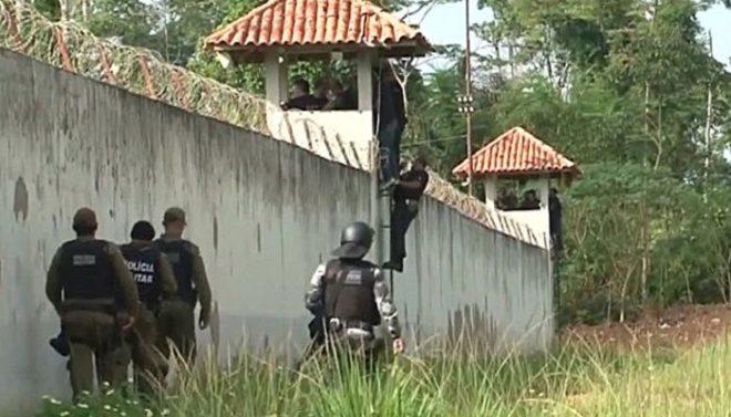 برازیل کی جیل میں مخالف گروہوں میں تصادم، 52 قیدی ہلاک