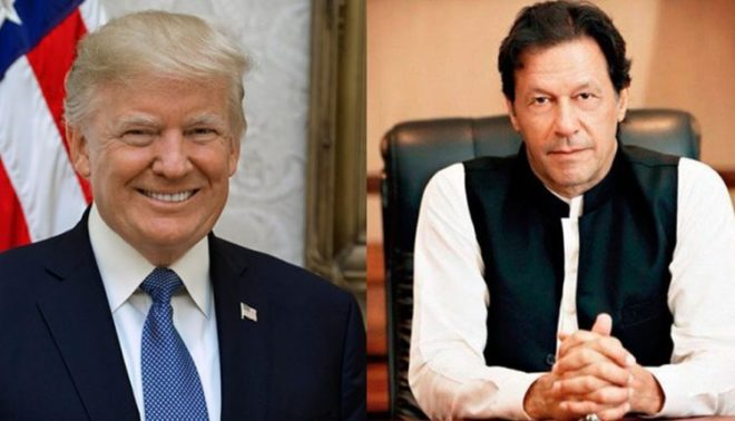 وزیراعظم عمران خان اور امریکی صدر ٹرمپ کے درمیان ملاقات آج ہو گی