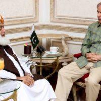 Fazlur Rahman - Shahbaz Sharif Meeting