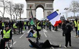 فرانس: ییلو جیکٹ مظاہرے 35 ویں ہفتے میں داخل ہو گئے