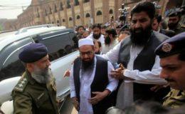 انسداد دہشتگردی عدالت نے حافظ سعید کو جوڈیشل ریمانڈ پر جیل بھیج دیا