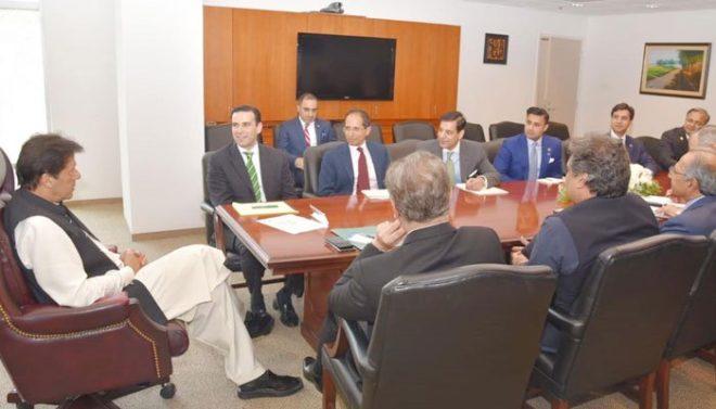 دورہ امریکا: وزیراعظم عمران خان سے تاجروں اور سرمایہ کاروں کی ملاقاتیں