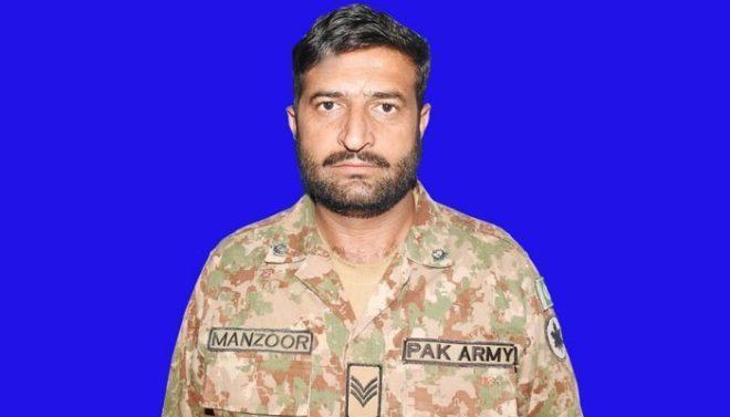 بھارتی فوج کی ایل او سی پر بلااشتعال فائرنگ، حوالدار منظور عباسی شہید