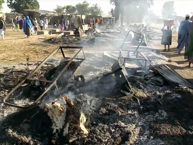 نائیجیریا: جنازے کے سوگواران پر دہشت گردوں کی فائرنگ، 65 افراد ہلاک