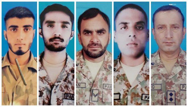 آزاد کشمیر میں دھماکا خیز مواد پھٹنے سے پاک فوج کے 5 جوان شہید، ایک زخمی