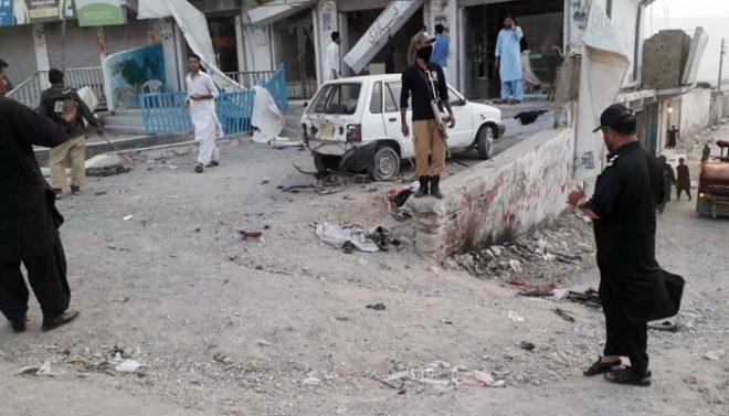کوئٹہ میں سٹی تھانے کے قریب دھماکا،5 افراد جاں بحق