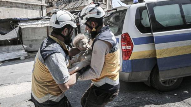 شام: انتظامیہ اور روسی طیاروں کے حملے، 4 شہری ہلاک، 6 زخمی