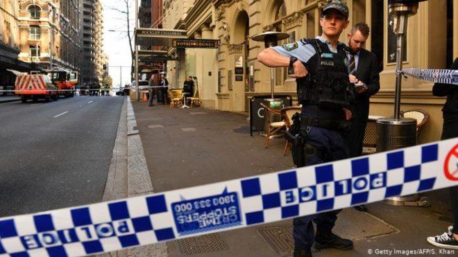 حملہ آور نے 'اللہ اکبر' کے نعرے لگائے تھے، آسٹریلوی پولیس