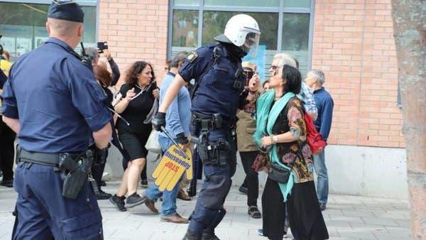 ایرانی وزیر خارجہ کی سویڈن آمد پر پُرتشدد مظاہرے، متعدد افراد گرفتار