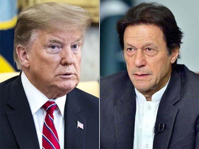 وزیراعظم عمران خان اور صدر ٹرمپ کا کشمیر کی صورتحال پر ٹیلی فونک رابطہ